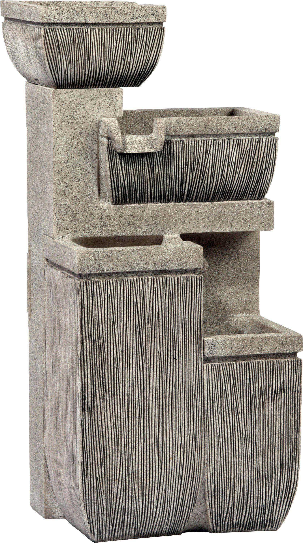 DOBAR Gartenbrunnen , B/T/H: 38,7/32,3/80,3 cm
