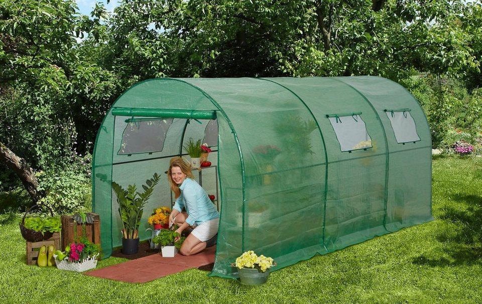 konifera tomaten gew chshaus bxt 200x450 cm otto. Black Bedroom Furniture Sets. Home Design Ideas