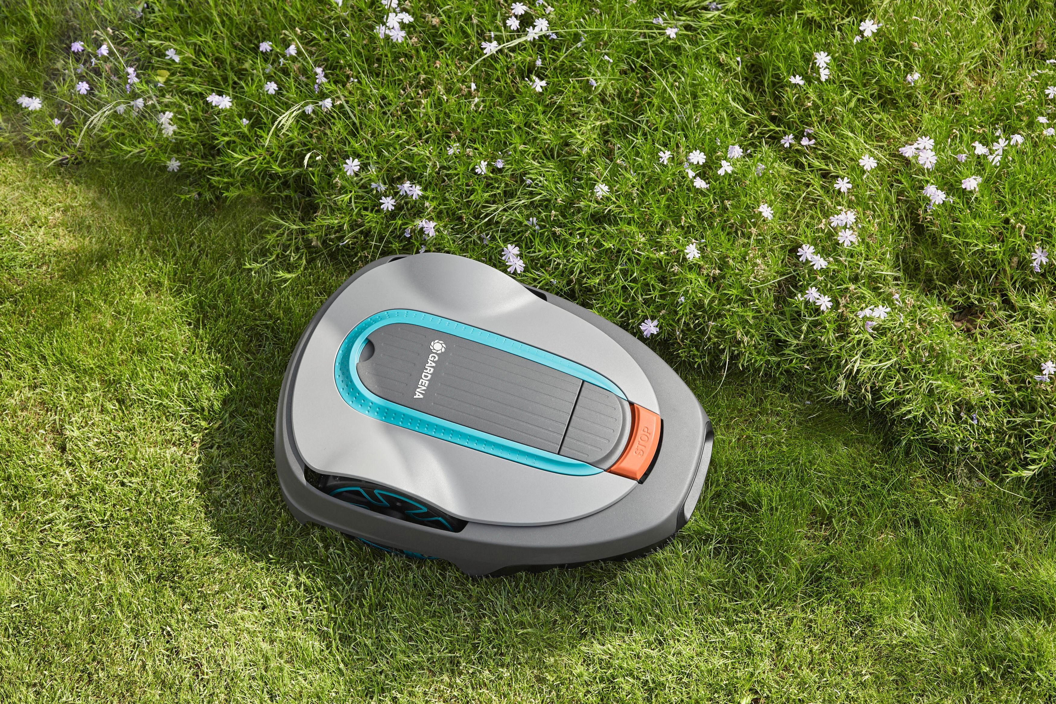 GARDENA Set: Rasenmähroboter »smart SILENO city 500«, 16 cm Schnittbreite, bis 500 m² Rasenfläche