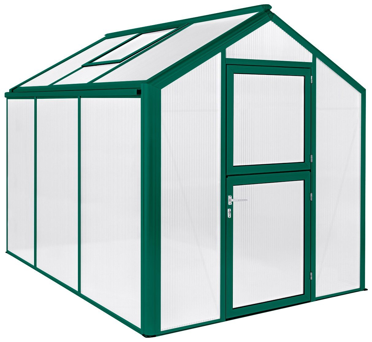 BECKMANN Gewächshaus »Allplanta U2«, BxT: 215x309 cm, grün