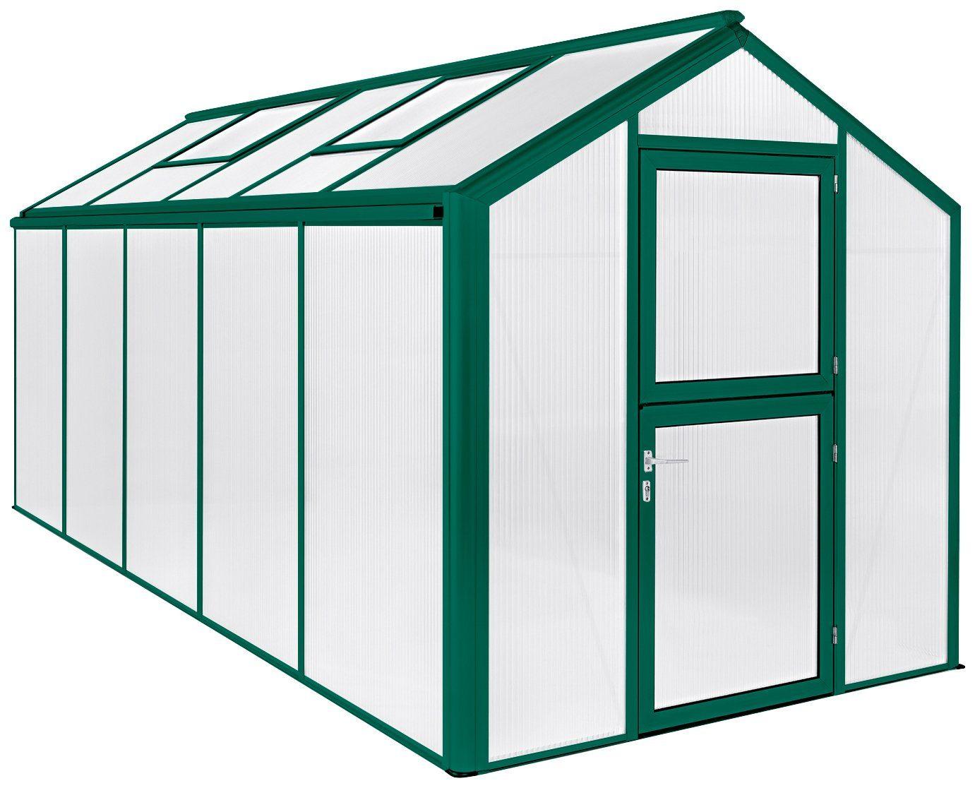 BECKMANN Gewächshaus »Allplanta U4«, BxT: 215x507 cm, grün
