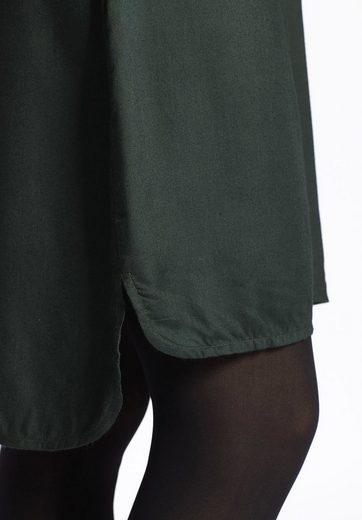 khujo Blusenkleid JUDY, mit Knöpfen in Perlenoptik