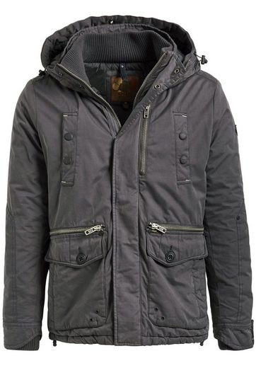 Khujo Winterjacke Peyo, Hooded