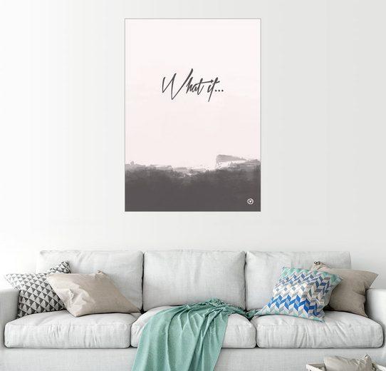 Posterlounge Wandbild - m.belle »What if«