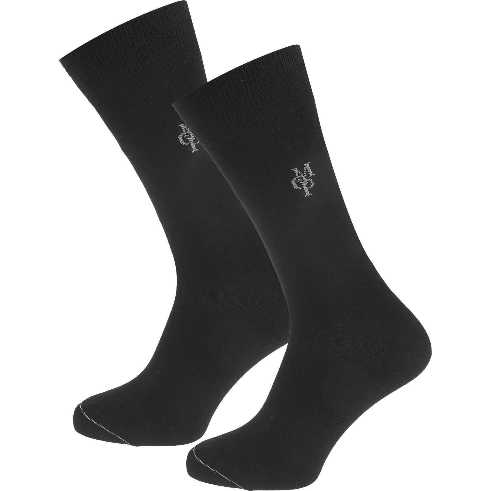 MARC O'POLO Larsen 2 Paar Socken online kaufen  schwarz