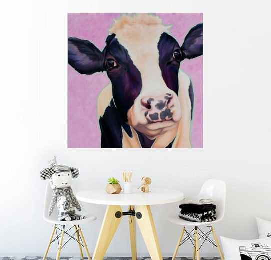Posterlounge Wandbild - Renate Berghaus »Kuh Lotte«