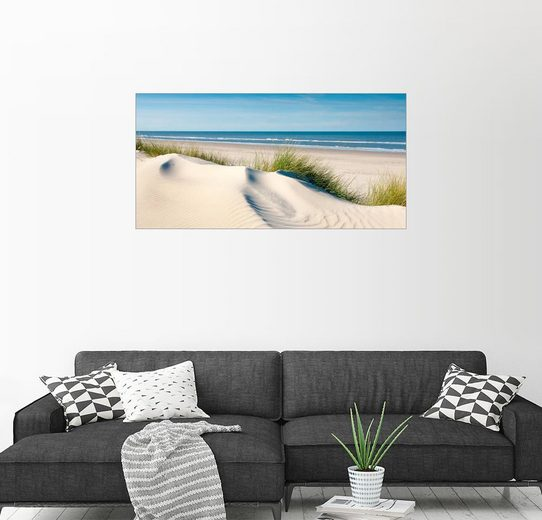 Posterlounge Wandbild - Reiner Würz RWFotoArt »Langeoog Beach«