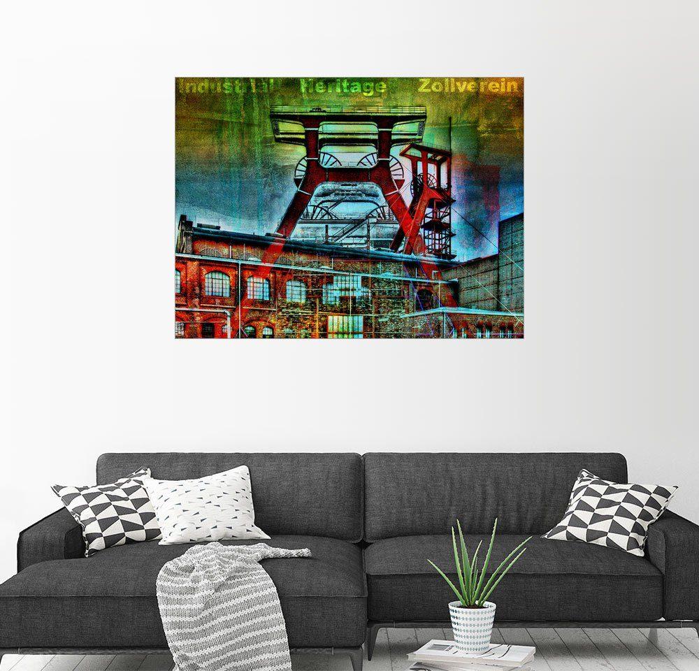 Posterlounge Wandbild - Nova Art »Zollverein - Индустриальный Heritage«