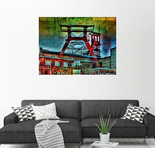 Posterlounge Wandbild - Nova Art »Zollverein - Industrial Heritage«