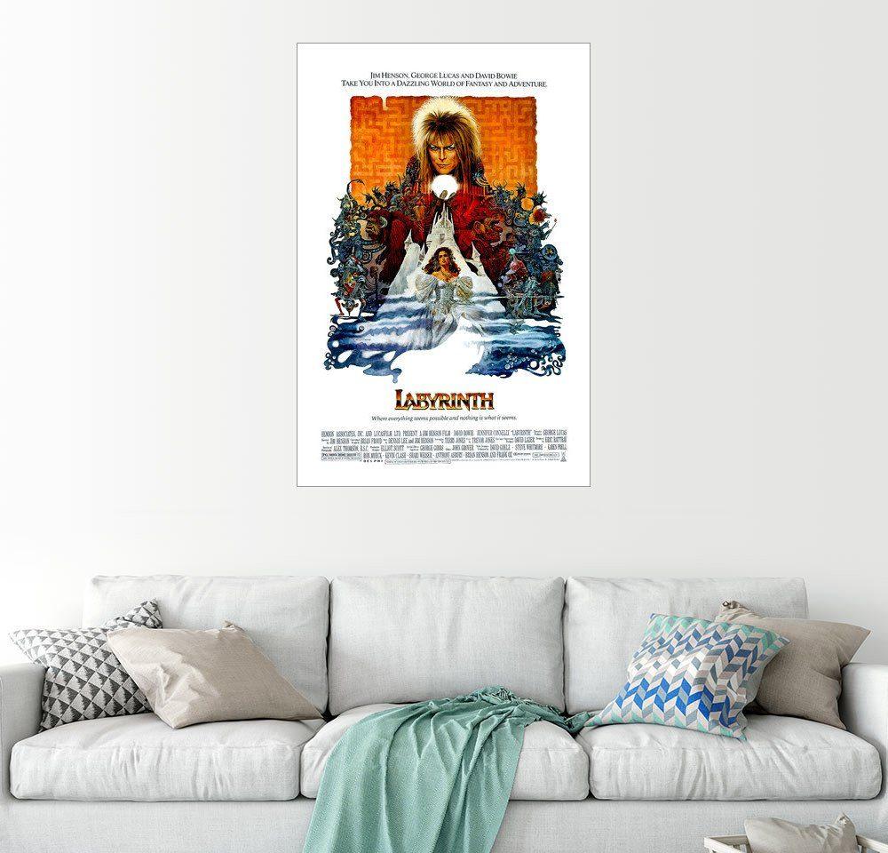 Posterlounge Wandbild »Die Reise ins Labyrinth«