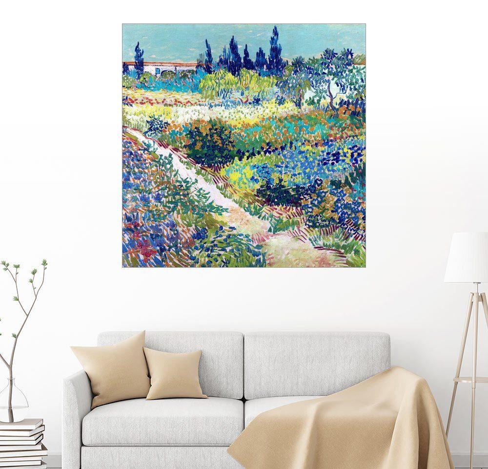 Posterlounge Wandbild - Vincent van Gogh »Garten bei Arles«