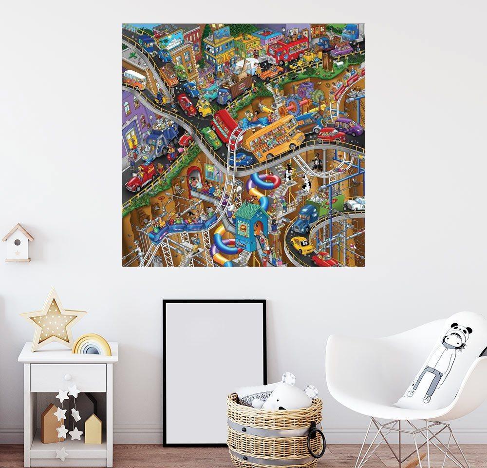 Posterlounge Wandbild   Steve Skelton »Bewegliche Teile«