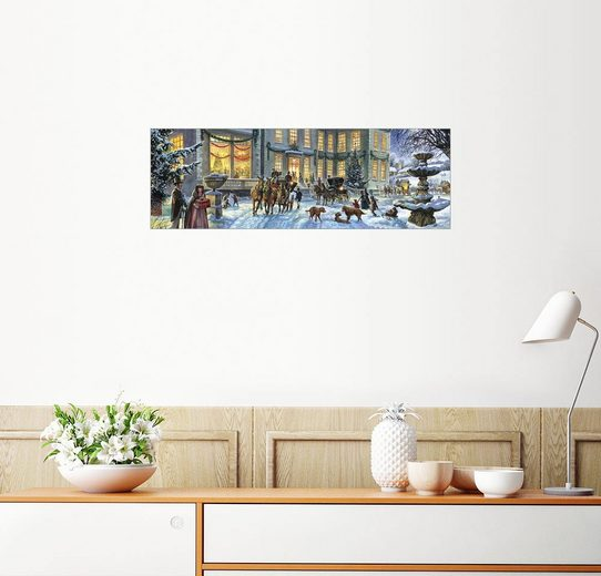 Posterlounge Wandbild - Steve Crisp »Weihnachten in der Stadt«