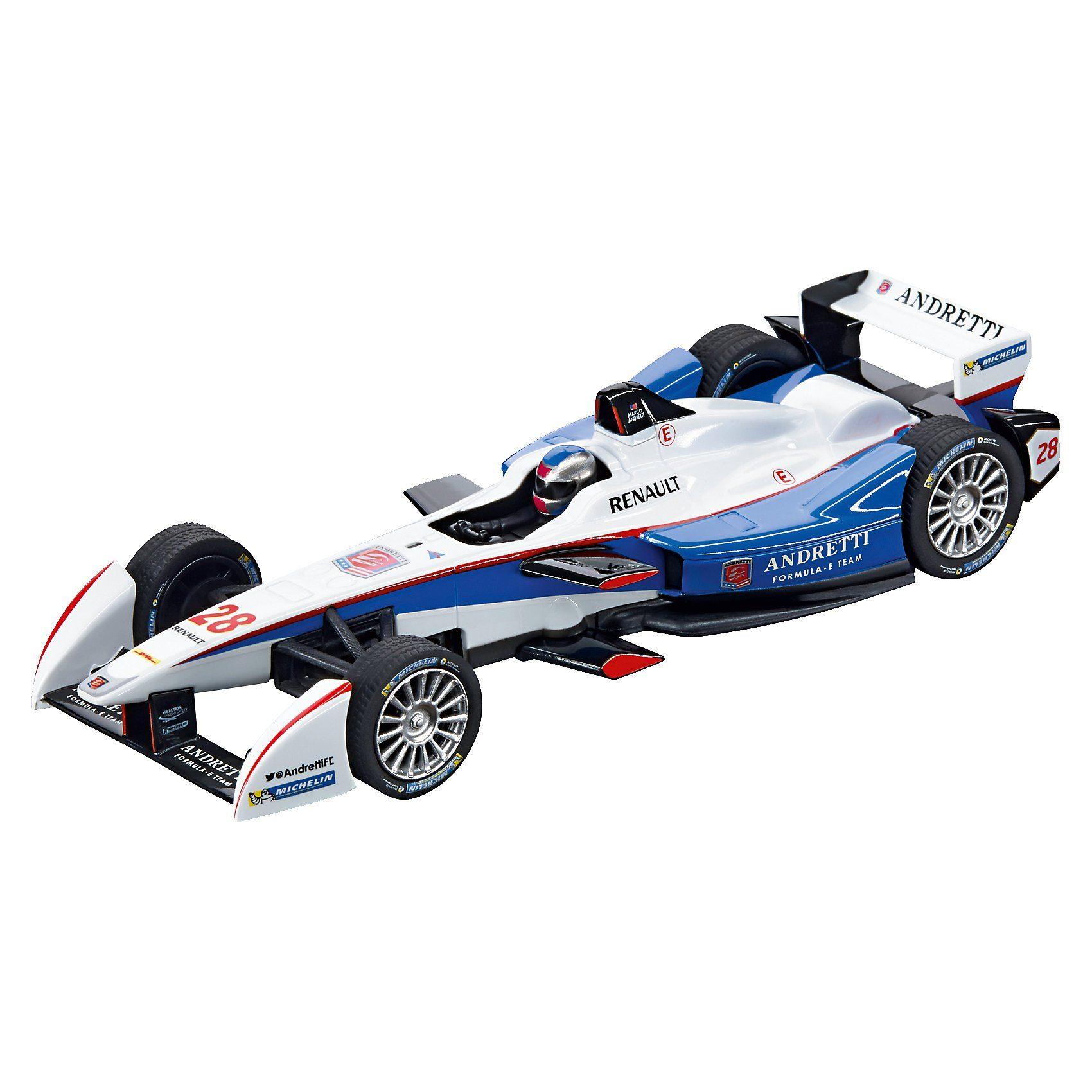 """Carrera Digital 132 30704 Formula E Andretti Autosport """"M.Andretti,"""