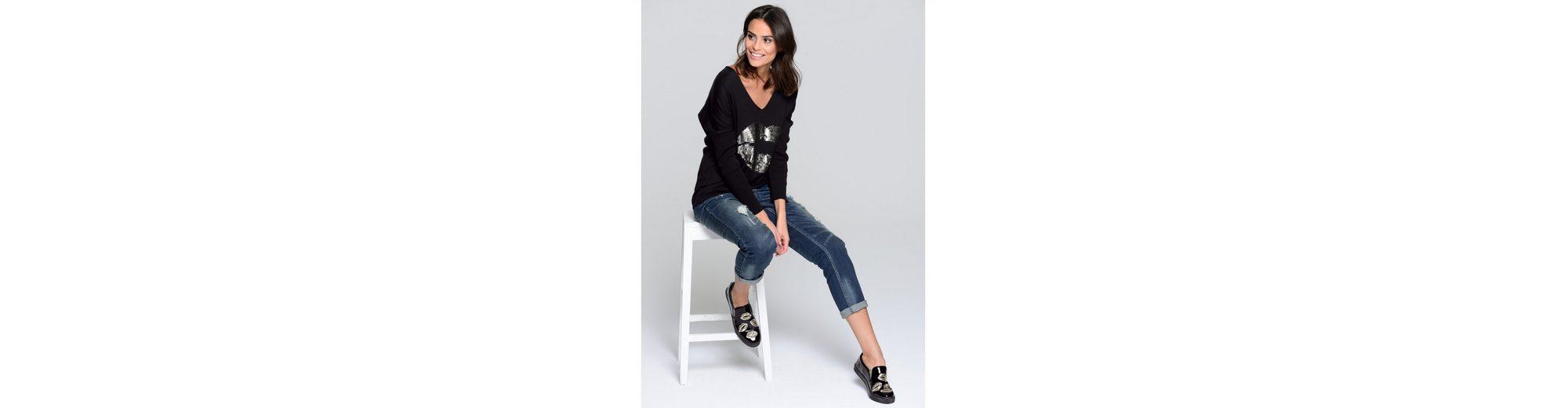 Spielraum Komfortabel Günstig Kauft Heißen Verkauf Alba Moda Jeans mit Destroyed-Effekten Limitierter Auflage Zum Verkauf eF0iWdB30