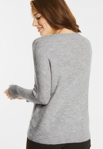 Street One Cosy Rundhals Pullover