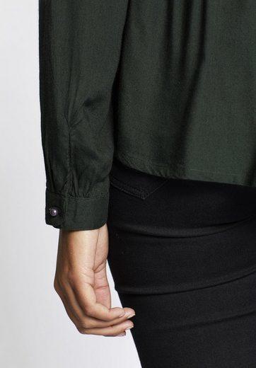 khujo Shirtbluse GIVERNY, mit aufwendiger Stickerei