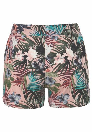 AJC Shorts, mit floralen Alloverprint