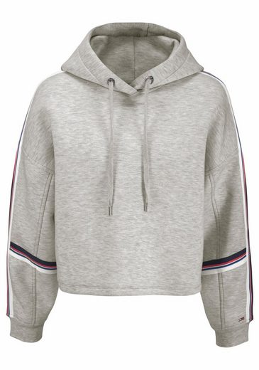 TOMMY JEANS Kapuzensweatshirt, mit sportiven Streifen