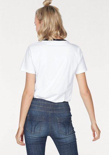 MISS SIXTY T-Shirt KHANE, mit mehrfarbigem Logo-Print