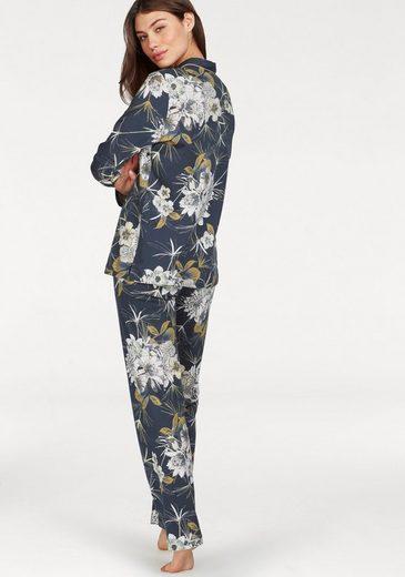 Pyjama Calida En Forme Classique Avec Imprimé Floral