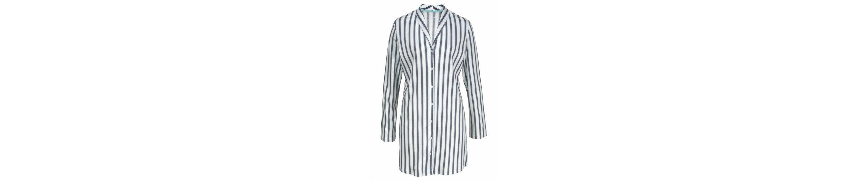 Calida Nachthemd im Streifenmuster mit Kopfleiste und Kragen Suche Nach Günstiger Online 0k33T