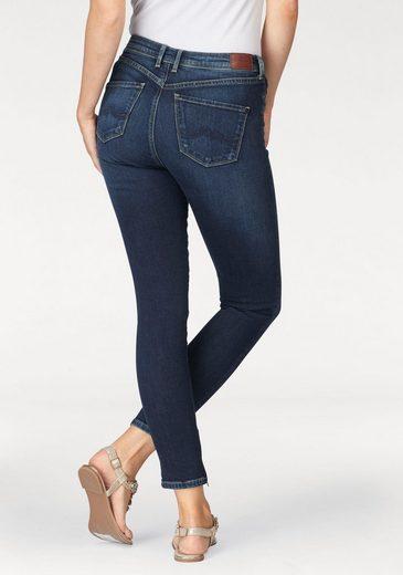 Pepe Jeans Skinny-fit-Jeans CHER HIGHWAIST, mit Zip-Detail
