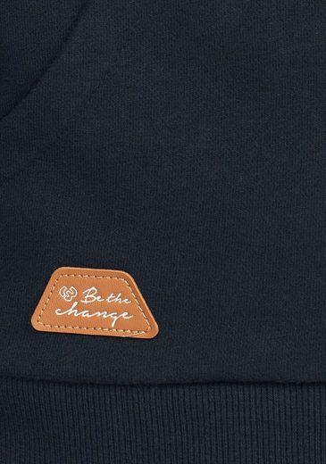 Ragwear Kapuzensweatshirt Basil, mit bedruckter Kapuze