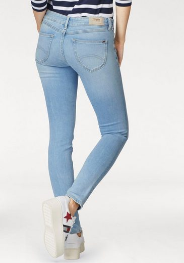 TOMMY JEANS Skinny-fit-Jeans Sophie, mit Logo-Stickerei