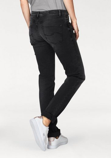 Q/S designed by Slim-fit-Jeans Catie, mit leichten Destroyed-Effekten