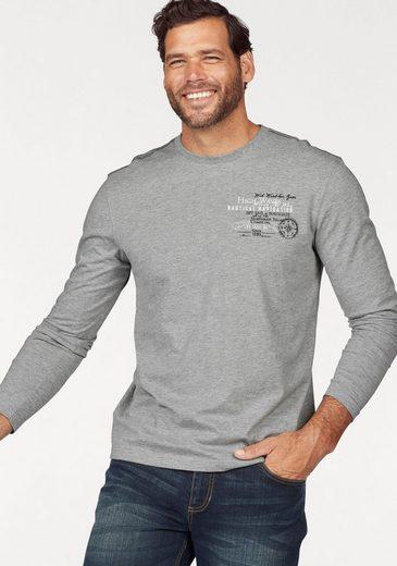 Man's World Langarmshirt (Packung, 2er-Pack)
