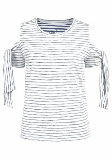 Herrlicher T-Shirt SANDRINE, mit Off-Shoulder