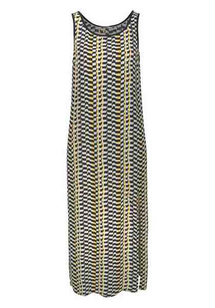 TOMMY JEANS Trägerkleid, mit Allover-Print