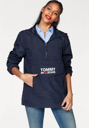 TOMMY JEANS Windbreaker, mit Logo-Print