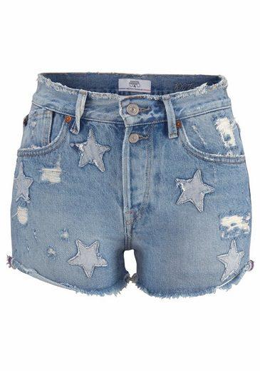 Le Temps Des Cerises Shorts BASTILLE, im besonderen Used-Look