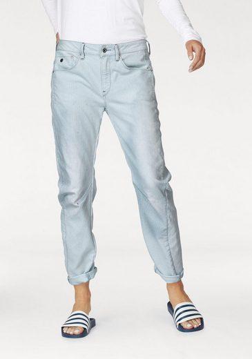 G-Star RAW Boyfriend-Jeans Arc 3d Mid Boyfriend, im Streifen-Design