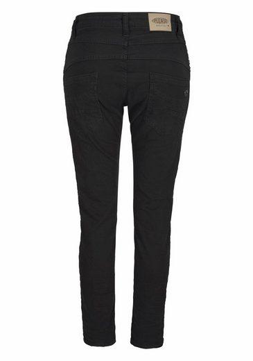 Please Jeans Boyfriend-Jeans P94S, mit Nietendetails