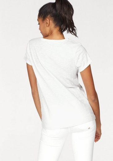 Le Temps Des Cerises T-Shirt FELINDRA, mit Pailletten-Applikation