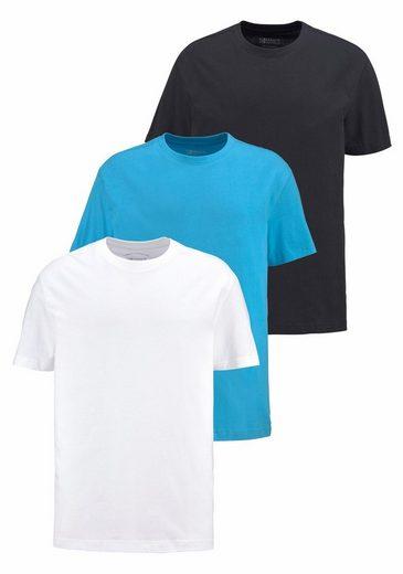 Mans World T-shirt (packung, 3er-pack)