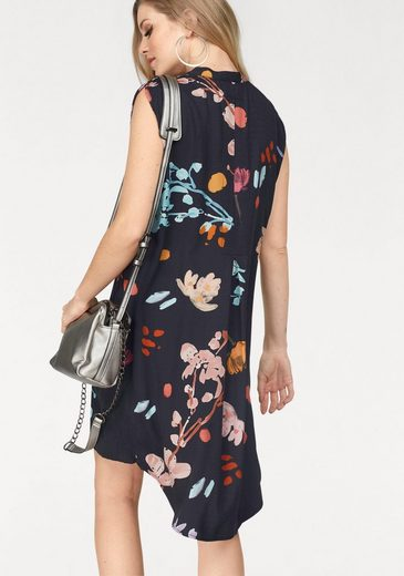 Desigual Blouse Dress, With Floral Allover-print