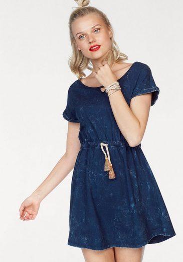 LTB Jerseykleid EWOLI, mit Denim-Waschung