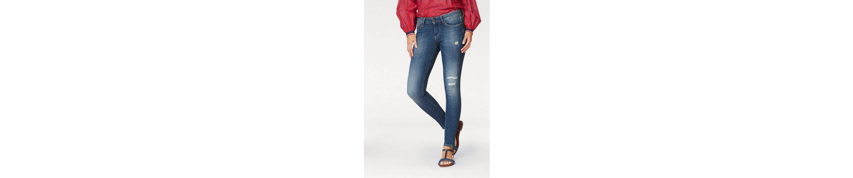 Pepe Jeans Skinny-fit-Jeans PIXIE, mit Destroyed-Effekten