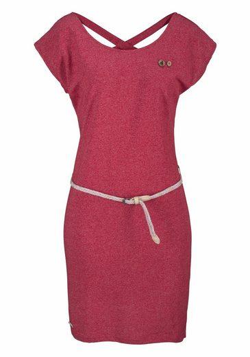 Ragwear Jerseykleid Sofia, mit raffinierter Rückenschnürung