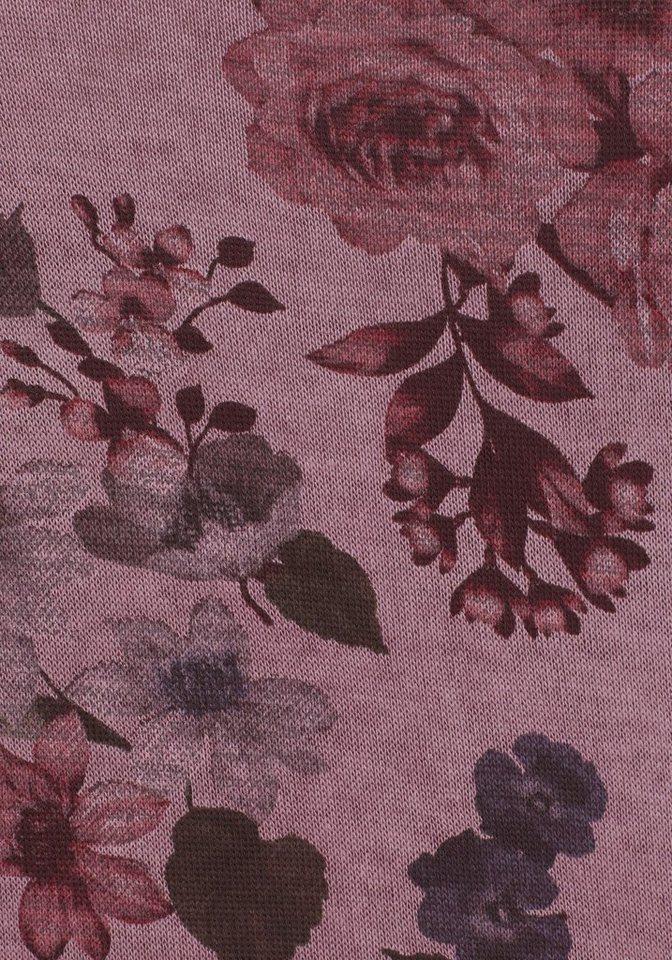ZABAIONE V-Ausschnitt-Pullover »SAFFIRA« mit Lurexfäden