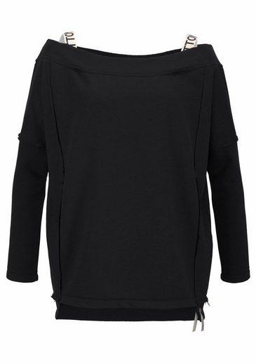 Sweat-shirt À Barbe À Papa Ecem, Avec Décolleté Sous-marin