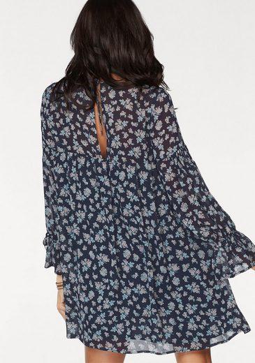 Mavi Jeans Druckkleid, im floralen Allover-Design