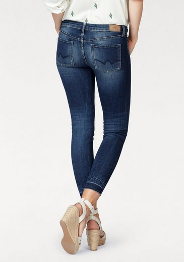Time Skinny-fit Jeans Powerc Cherries, Im Used-look