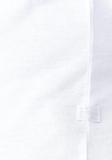 G-Star RAW V-Shirt RC Ovvella Straight Deep V T, mit tiefem V-Ausschnitt