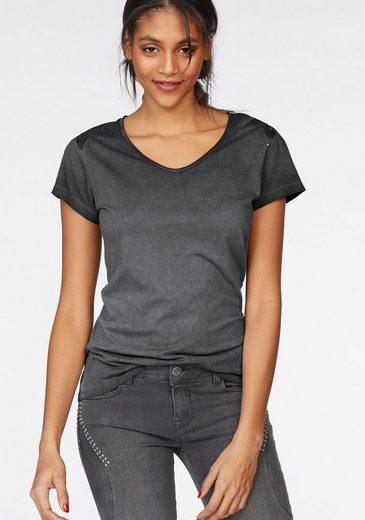 Zhrill T-Shirt TONI, mit Pailletten in Sternenform