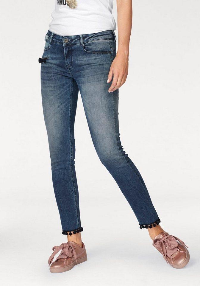 a987a8e813cd Zhrill Skinny-fit-Jeans »MIA« mit angesagten Bommel-Details online ...